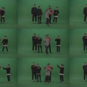 Break-dance-battle-contest-boys-on-green-screen-background Green Screen Stock