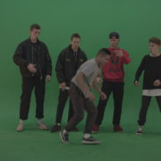 Break-dance-battle-contest-boys-on-green-screen-background_004 Green Screen Stock
