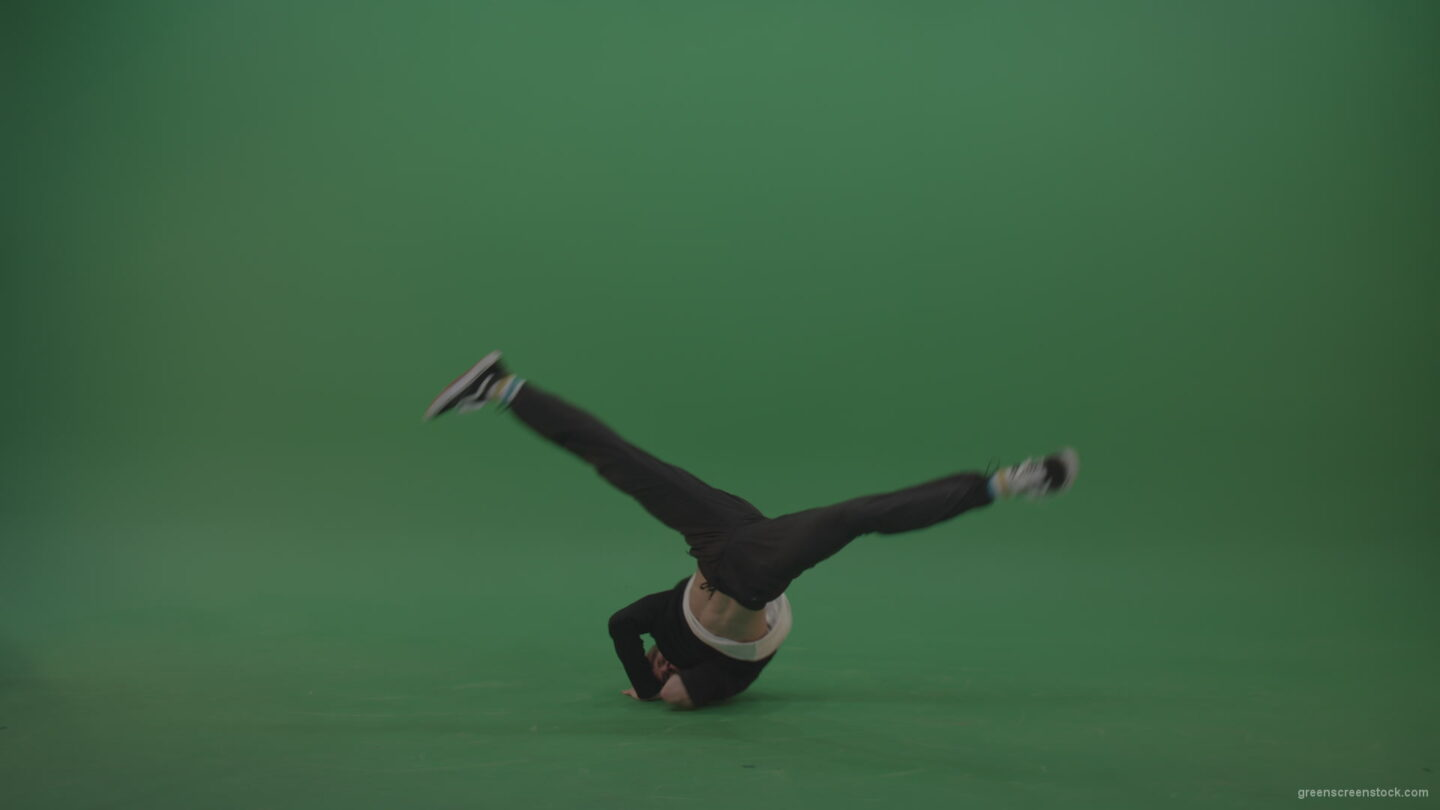 Break-dance-peformance-on-green-screen_007 Green Screen Stock