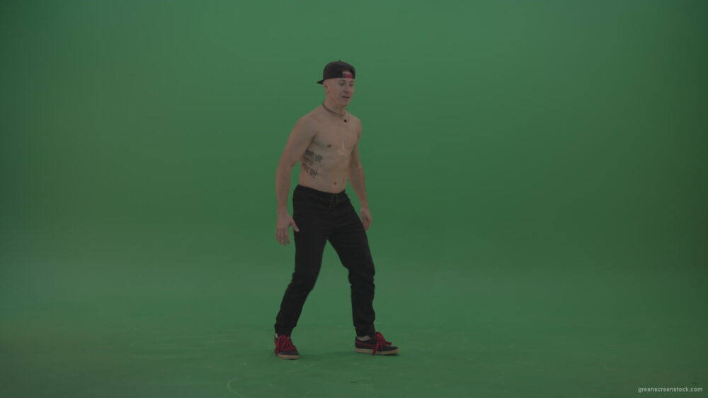 vj video background Green-Screen-naked-boy-dancing-on-green-background_003