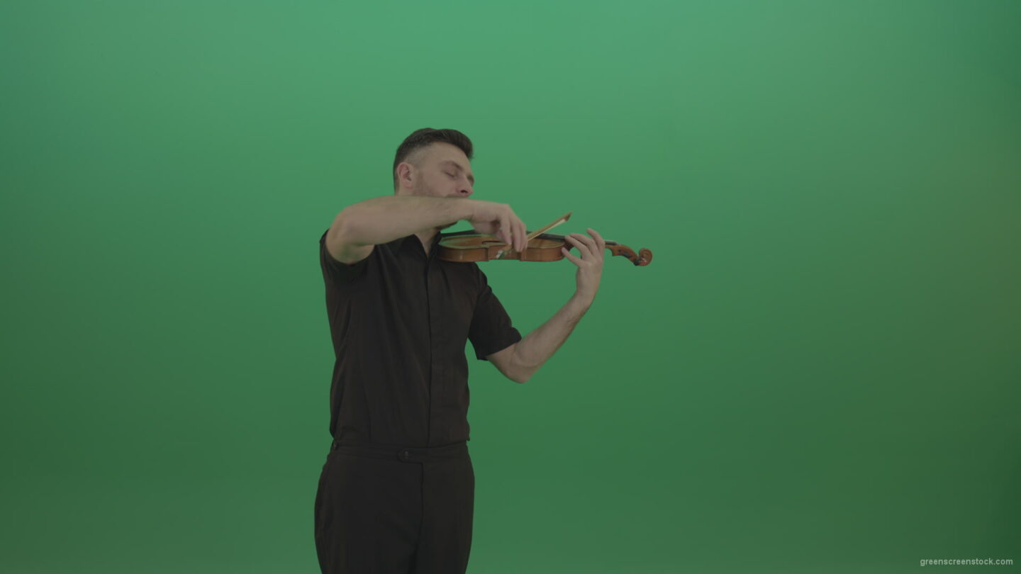 vj video background Green-Screen-People-Man-playing-violin-fiddle-strings-music-instument-in-slow-romantic-style-isolated-green-screen_003