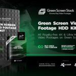 HDD Green Screen VIdeo Footage Kit-min