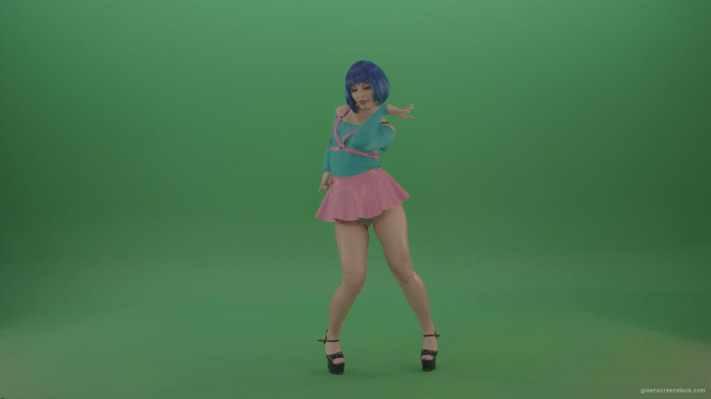 vj video background Beauty-sexy-girl-dancing-strip-go-go-dance-on-green-screen_003