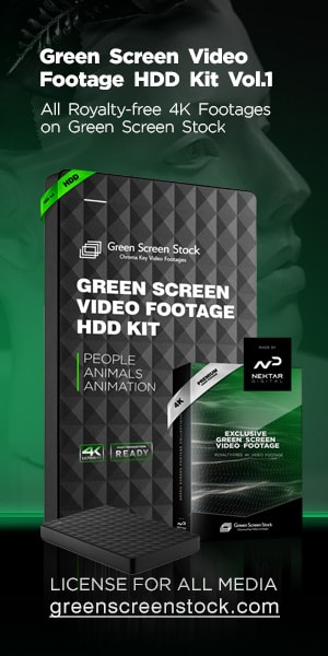 Green Screen Video Footage HDD Kit Vol.1