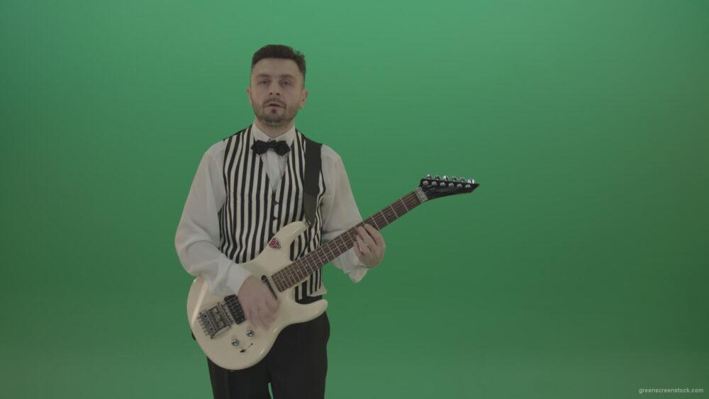 vj video background Wedding-guitarist-playing-guitar-in-green-screen-studio_003