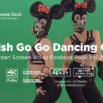 Fetish Go Go Dancing Girls Green Screen Video Footage Pack