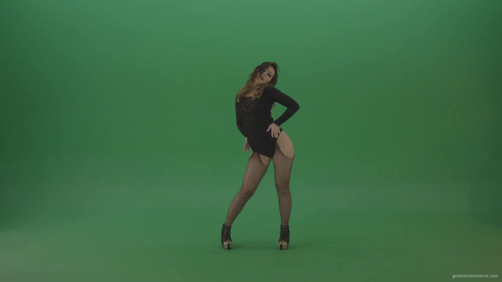 vj video background Go-Go-Girl-Dancing-and-shaking-the-ass-in-back-side-view-on-green-screen-1920_003