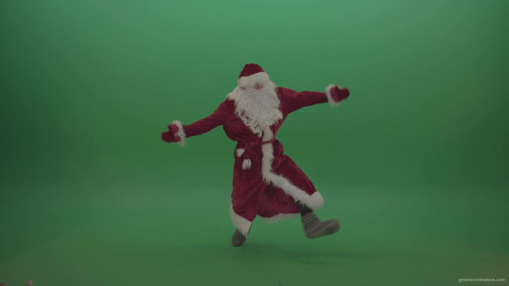 vj video background Happy-santa-dances-to-the-tune-over-chromakey-background-1920_003