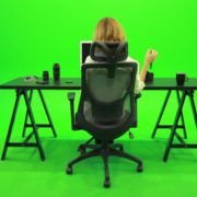 Woman-Searching-in-the-Phone-Green-Screen-Footage_005 Green Screen Stock