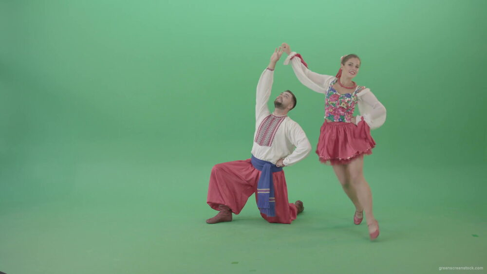 vj video background Kozak-Ukraine-dancing-girl-and-boy-isolated-on-Green-Screen-4K-Video-Footage-1920_003