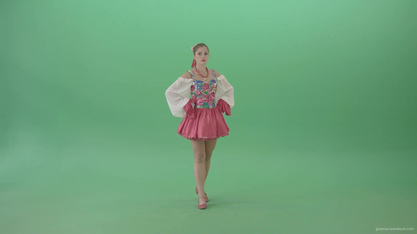 Ukrainian-Girl-spinning-in-dance-in-national-Ukraine-costume-isolated-on-Green-Screen-1920_001 Green Screen Stock