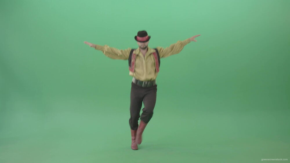 vj video background Balkan-Gipsy-Man-dancing-and-jump-isolated-on-green-screen-4K-30-fps-Video-Footage-1920_003