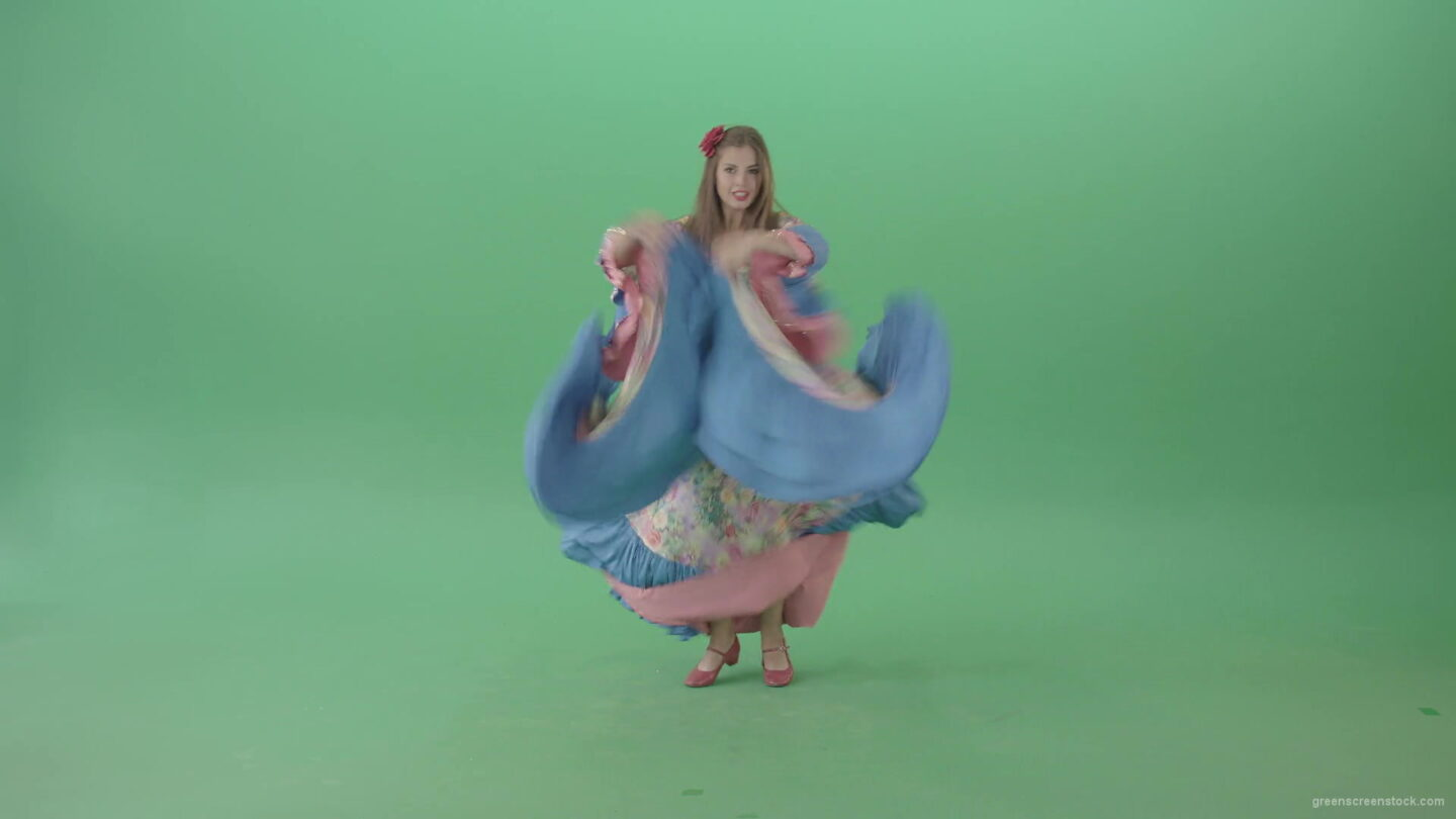 vj video background Balkan-roma-girl-waving-gypsy-dress-and-dancing-isolated-on-green-screen-4K-Video-Footage-1-1920_003