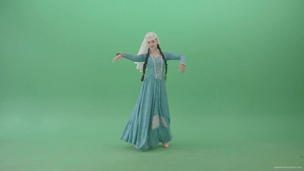 vj video background Beautiful-elegant-Woman-in-Blue-Dress-dancing-Perkhuli-oriental-dance-on-Green-Screen-4K-Video-Clip-1920_003