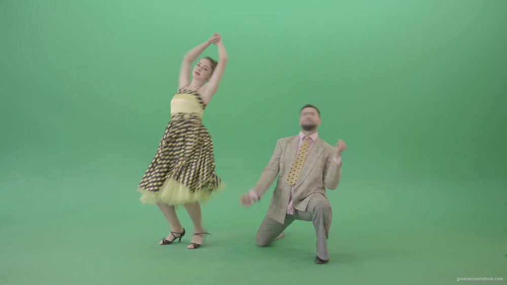 vj video background Beautiful-man-and-woman-dancing-Lindy-Hop-Jazz-and-Swing-dance-isolated-on-Green-Screen-4K-Video-Footage-1920_003