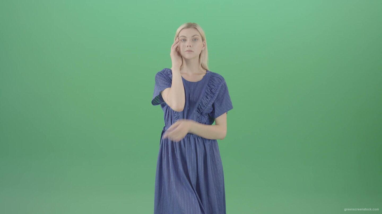 vj video background Beautiful-model-housewife-posing-on-green-screen-showing-gestures-4K-Video-Footage-1920_003