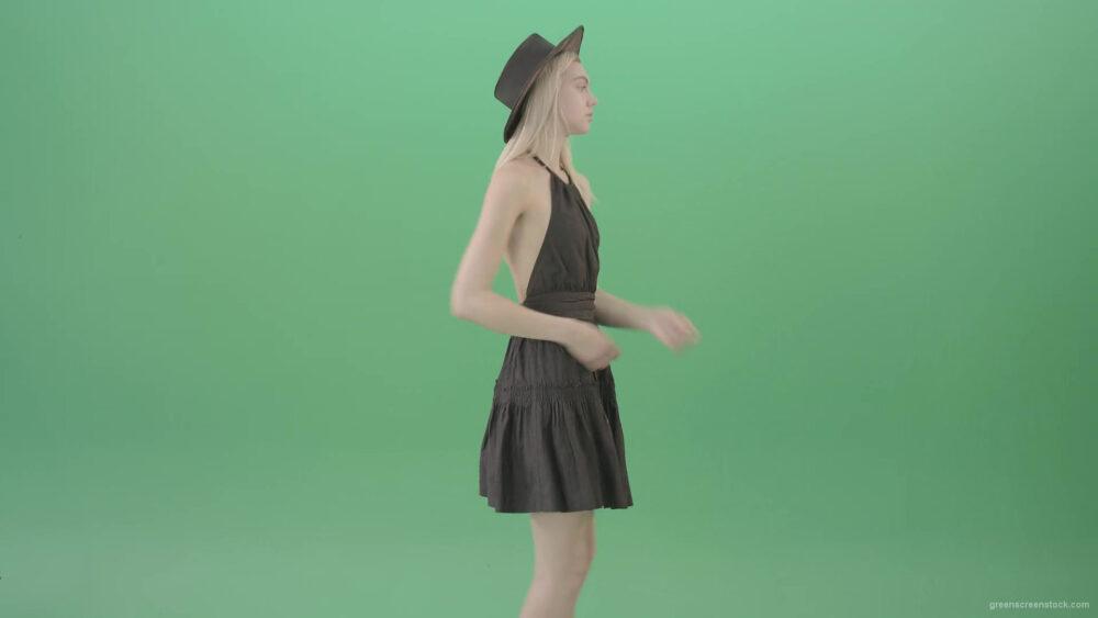 vj video background Elegant-blonde-girl-topmodel-posing-over-Green-Screen-for-Photoshooting-4K-Video-Footage-1920_003