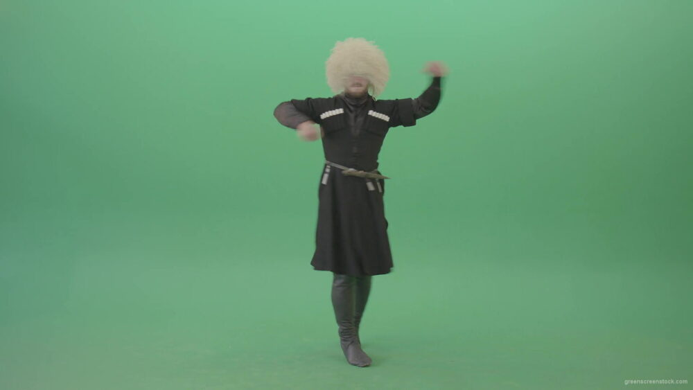 vj video background Georgian-Tbilisi-man-dancing-folk-traditional-man-dance-isolated-on-Green-Screen-4K-Video-Footage-1920_003