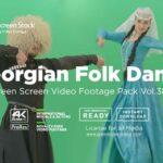 Georgian-Tranditional-Dance-Video-Footage-Green-Screen