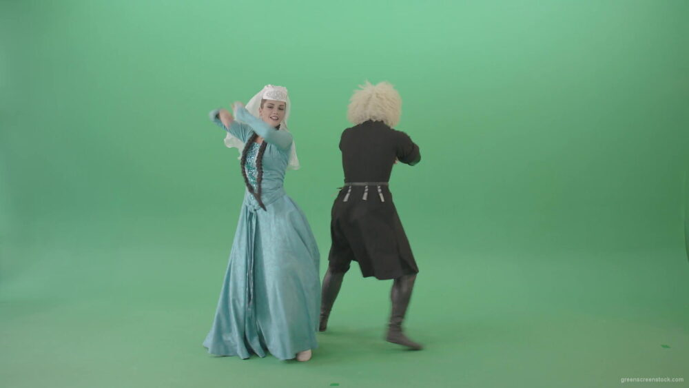 vj video background Gerogian-people-funny-dancing-with-smile-in-folk-dress-isolated-on-Green-Screen-4K-Video-Footage-1920_003
