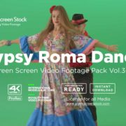 Gypsy-Roma-Dance-greenscreen-video