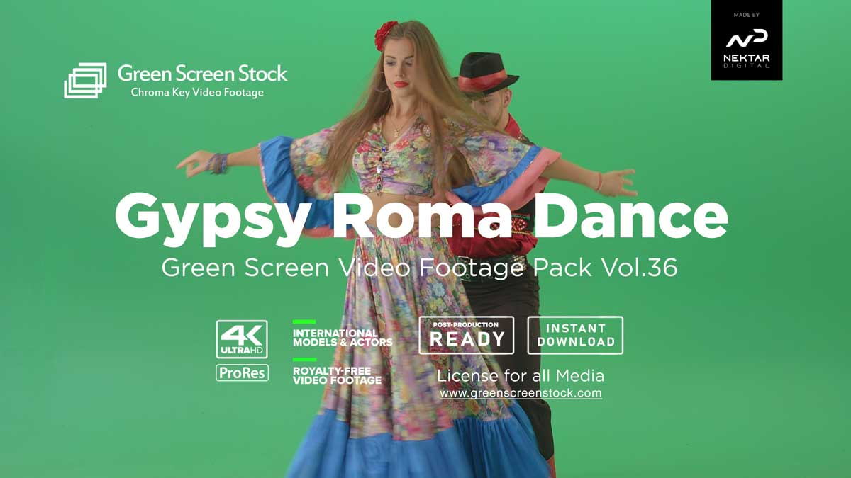 Gypsy-Roma-Dance-greenscreen-video