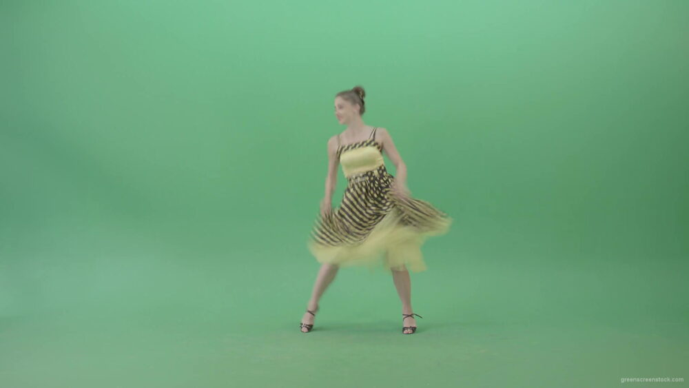 vj video background Happy-Woman-dancing-Rock-and-Roll-Jazz-Swing-Boogie-woogie-isolated-on-Green-Screen-4K-Video-Footage-1920_003