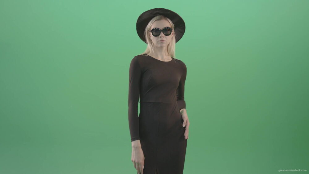 vj video background Luxury-elegant-girl-showing-photo-model-posing-gestures-isolated-on-Green-Screen-4K-Video-Footage-1-1920_003