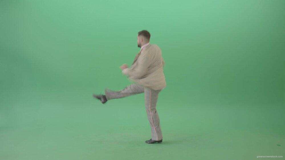 vj video background Man-dancing-shuffle-jazz-swing-Boogie-woogie-and-jumping-isolated-over-Green-Screen-4K-Video-Footage-1920_003
