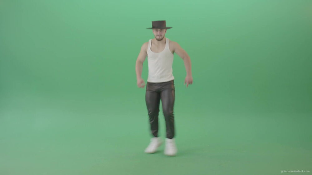 vj video background Michael-Jackson-Turn-spinning-and-dance-by-funny-man-isolated-on-Green-Screen-4K-Video-Footage-1920_003