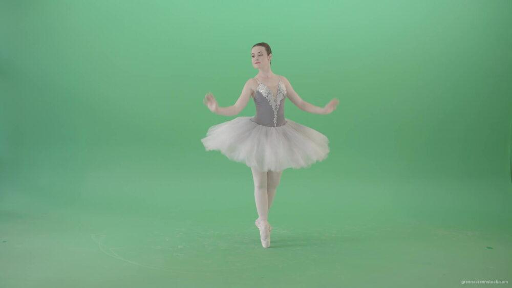 vj video background Ballerina-Woman-dancing-elegnatly-ballet-swan-lake-dance-in-green-screen-studio-4K-Video-Footage-1920_003