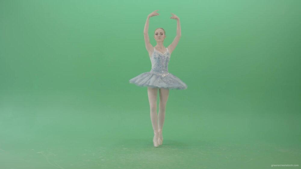 vj video background Beauty-blonde-ballerin-ballet-dancing-girl-in-blue-dress-spinning-over-green-screen-4K-Video-Footag-30fps-1920_003