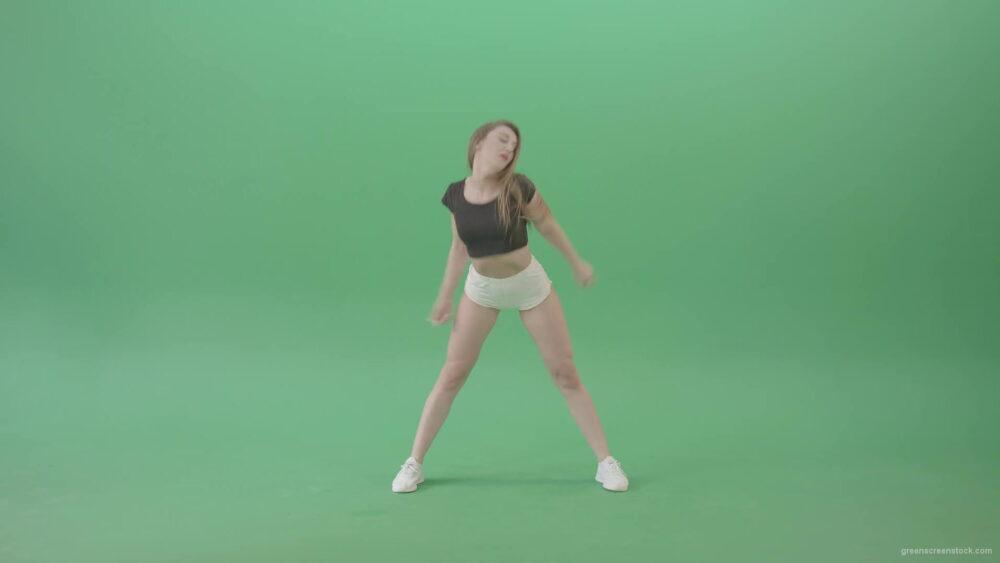 vj video background European-girl-dancing-hip-hop-twerk-dance-isolated-on-green-screen-4K-Video-Footage-1920_003