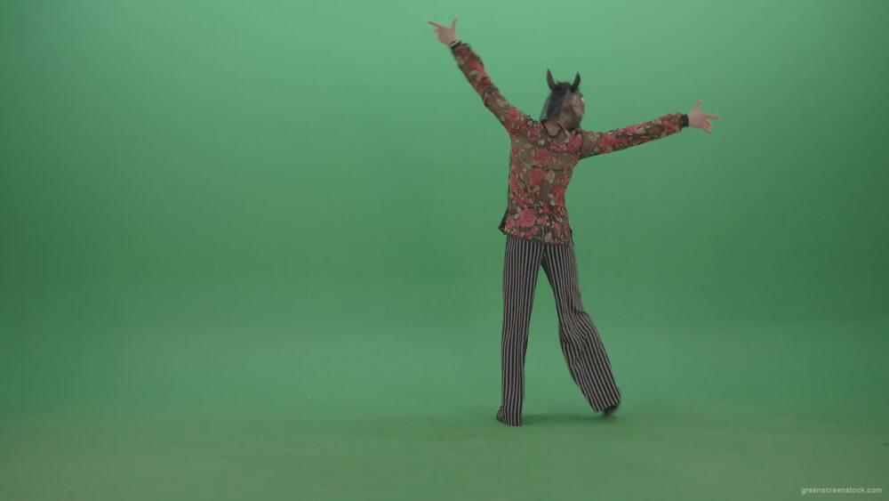 vj video background Fanny-dancing-Horse-Man-showing-ballroom-dance-on-green-screen-4K-Video-Footage-1920_003