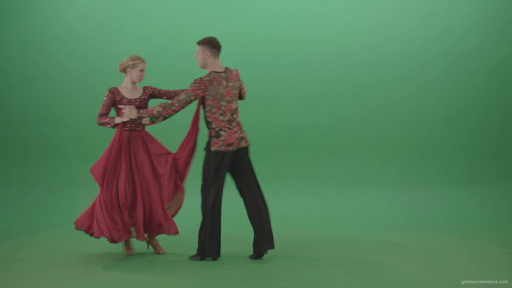 Man-and-woman-dancing-Rumba-lation-dance-from-left-to-right-side-transition-4K-Green-Screen-Video-Footage-1920_005 Green Screen Stock