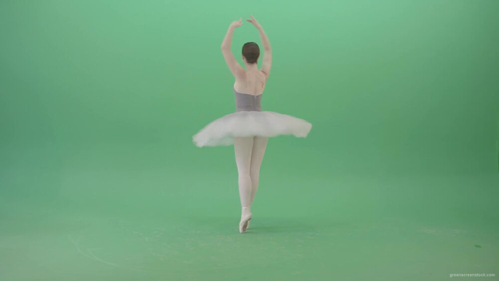 vj video background Smal-ballerina-girl-spinning-on-the-place-in-ballet-dance-art-on-green-screen-4K-Video-Footage-1920_003