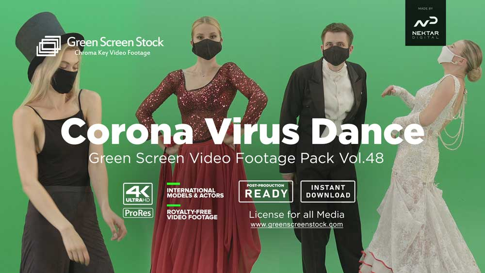 Corona-Virus-Dance-Green-Screen-Video-Footage-Pack