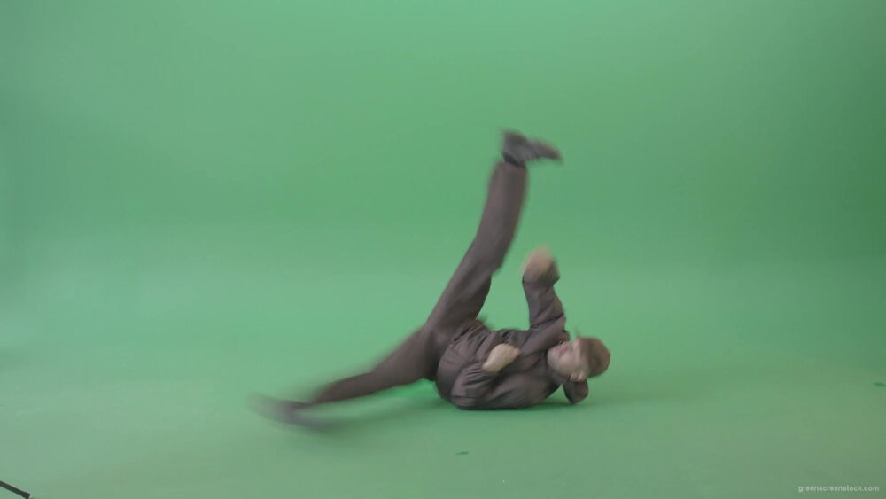 B-Boy-breakdance-man-making-power-moves-isolated-on-green-screen-4K-Video-Footage-1920_006 Green Screen Stock