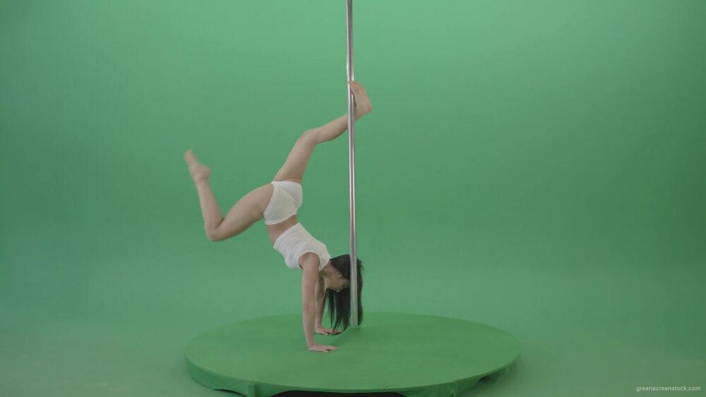 vj video background Fit-Girl-waving-legs-dancing-pole-dance-on-green-screen-4K-Video-Footage-1920_003