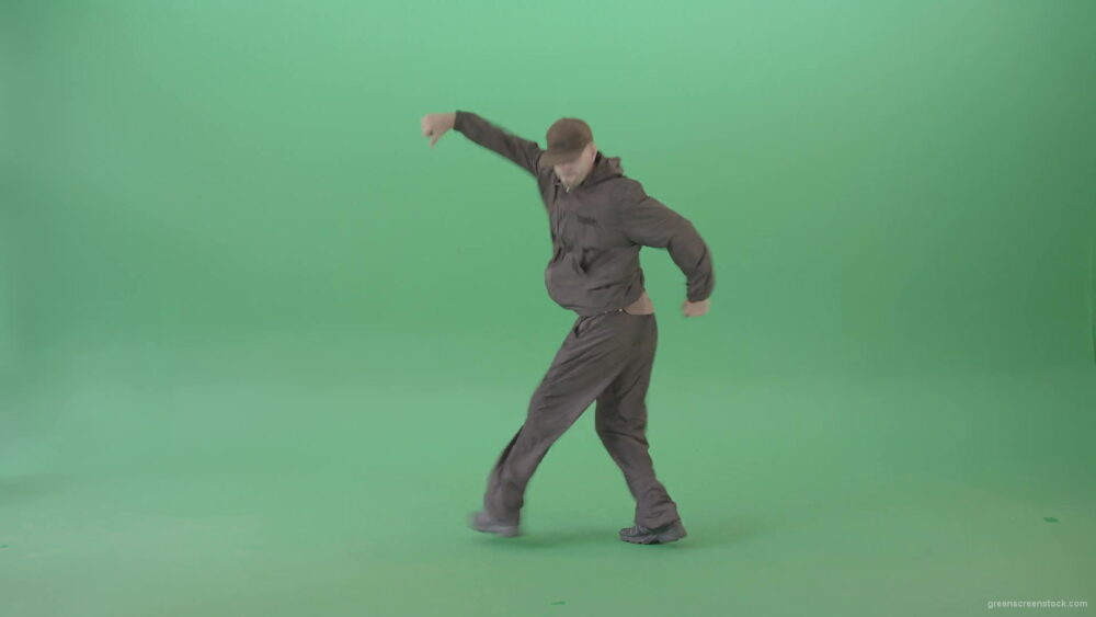 Great-break-dance-by-young-B-Boy-dancing-hip-hop-over-green-screen-4K-Video-Footage-1920_004 Green Screen Stock