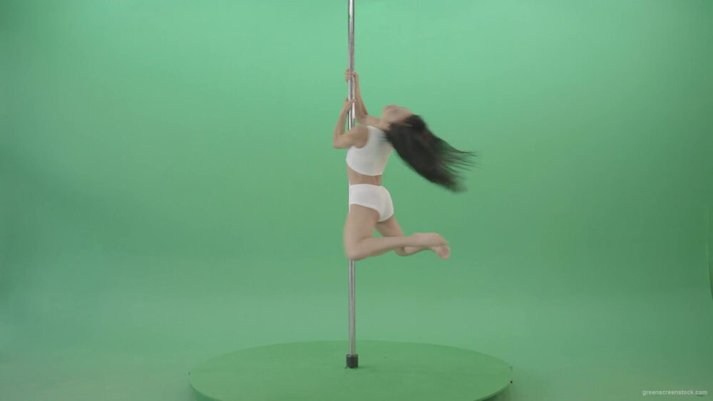 vj video background Green-Screen-Woman-spinning-gracefully-on-pole-dance-Video-Footage-1920_003