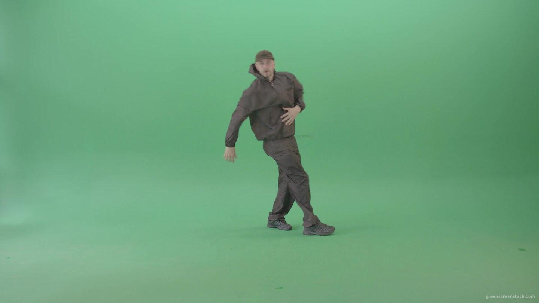 Professional-Hip-Hop-break-dancer-Stylish-man-dancing-on-green-screen-4K-Video-Footage-1920_009 Green Screen Stock