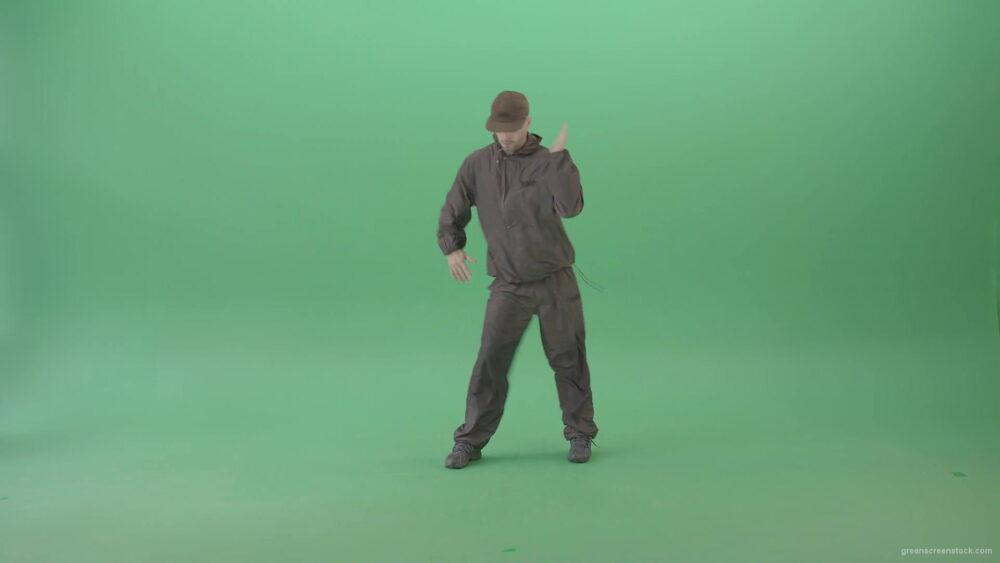 vj video background Professional-Hip-Hop-break-dancer-Stylish-young-man-dancing-against-green-screen-4K-Video-Footage-1920_003