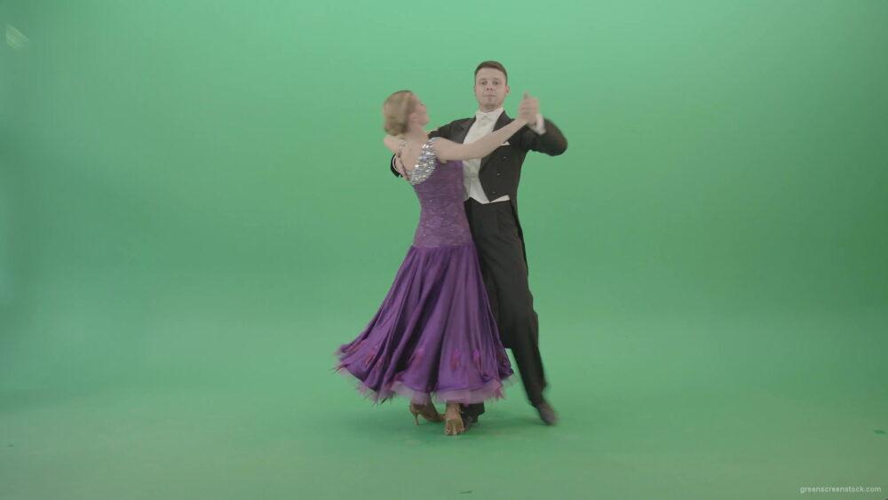 Ballroom-dancing-couple-spinning-in-Waltz-Valse-on-green-screen-4K-Video-Footage-1920_009 Green Screen Stock