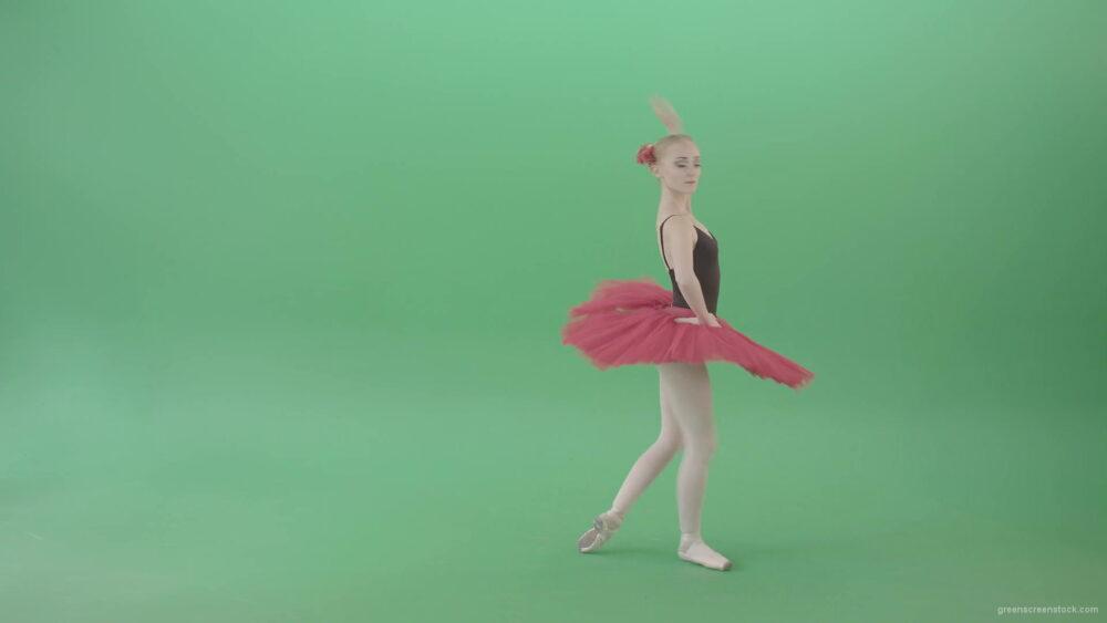 vj video background Classical-Ballerina-girl-dancing-red-black-ballet-on-green-screen-4K-Video-Footage-1920_003