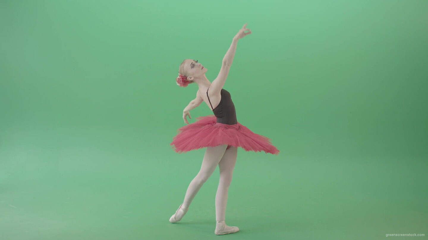 Elegant-elite-moves-by-ballet-dancing-blonde-girl-on-green-screen-4K-Video-Footage-1920_006 Green Screen Stock