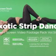 Exotic Strip Dance - Green Screen Video Footage Pack