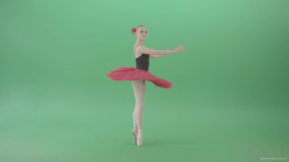 vj video background Happy-smiling-ballet-girl-ballerina-spinning-in-dance-on-green-screen-4K-Video-Footage-1920_003