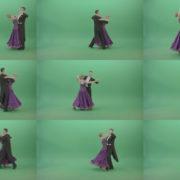 Man-and-Woman-dancing-Vienna-Waltz-Valse-on-green-screen-4K-Video-Footage-1920 Green Screen Stock