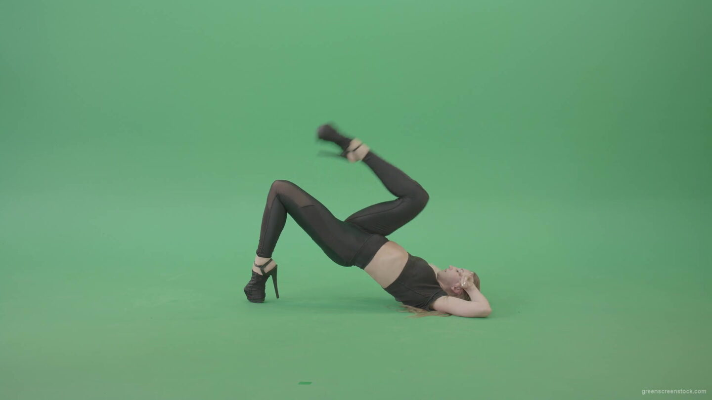 Sexy-Dancing-Girl-showing-Exotic-erotic-dance-isolated-on-green-screen-4K-Video-Footage-1920_008 Green Screen Stock